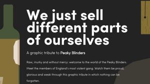PEAKY BLINDERS - A GRAPHIC TRIBUTE