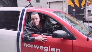 Norwegian Red Cab