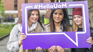 University of Manchester website
