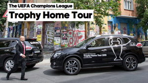 UCL Trophy Home Tour