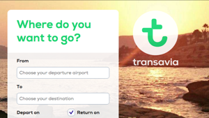New User and Brand Experience Transavia