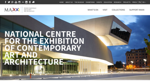 MAXXI Museum. THE NEW WEBSITE.