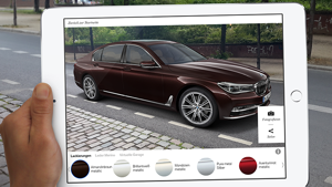 BMW Individual Augmented Reality App