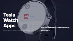 Tesla Watch Apps